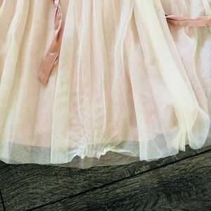 Monsoon Dresses - Beautiful girls dress-soft pink tulle with sequins
